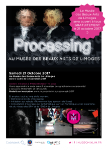 CodeWeek - MuseomixLim au Musée des Beaux Arts @ Musée des Beaux-Arts