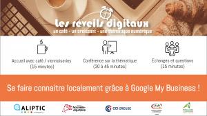 Les réveils digitaux - N°4 : #GoogleMyBusiness @ La Palette |  |  |