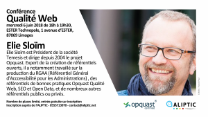 Conférence : Qualité Web @ Ester Technopole