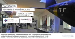 Parcours d'énigmes numérique / Codeweek 2018 @ Musée de la Résistance de Limoges