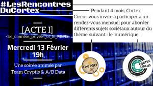 Les Rencontres du Cortex - Les données privées @ UL Factory
