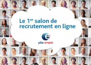 """Salon Pôle Emploi en ligne """"les métiers du numérique"""""""