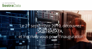 SostraData : inauguration du 1er Data Center du Limousin @ SostraData