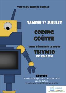 Coding-goûter AFR Briance Roselle @ AFR Briance Roselle