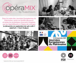OpéraMix : Portes ouvertes au public @ Opéra de Limoges