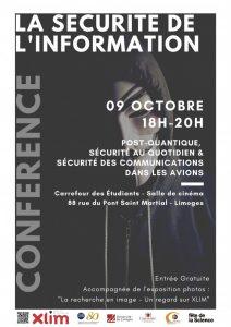 CONFÉRENCE : LA RECHERCHE SCIENTIFIQUE D'HIER À AUJOURD'HUI @ Carrefour des Étudiants (salle de cinéma )