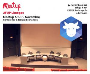 Meetup AFUP - Novembre @ ESTER Technopole