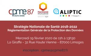 Réunion CPME : Stratégie Nationale de Santé 2018-2022 @ la Giraffe
