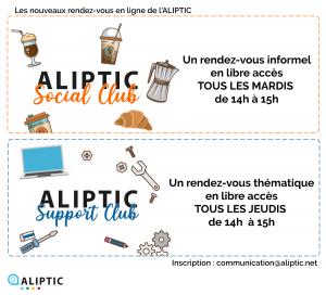 ALIPTIC SOCIAL CLUB - SUPPORT CLUB : Lancement ! @ En ligne