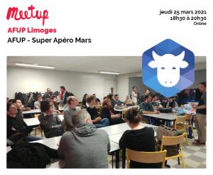 AFUP - Super Apéro Mars @ En ligne
