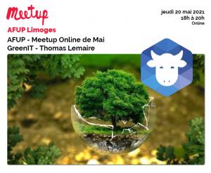 AFUP Meetup Online de Mai : GreenIT - Thomas Lemaire @ En ligne