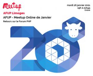 AFUP Meetup Online de janvier : REX sur Tailwind CSS @ En ligne