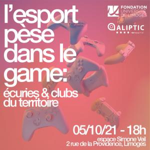L'E-Sport pèse dans le Game ! @ Espace Simone Veil